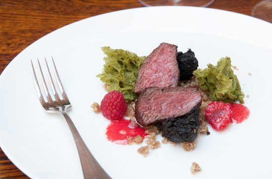 Draper's Hall Restaurant: Fillet of Roe Deer