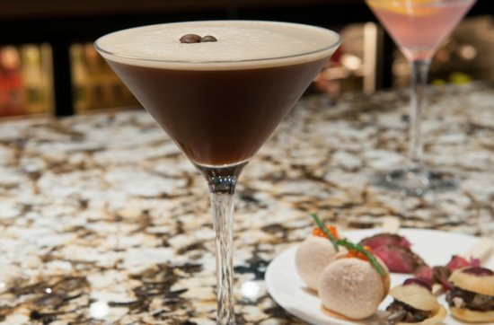 Draper's Hall Restaurant: Espresso martini on point