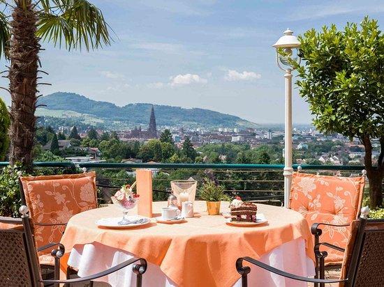 Mercure Hotel Panorama Freiburg: Bar Lounge