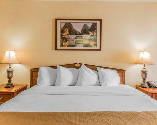 Quality Inn: Guest room with king bed