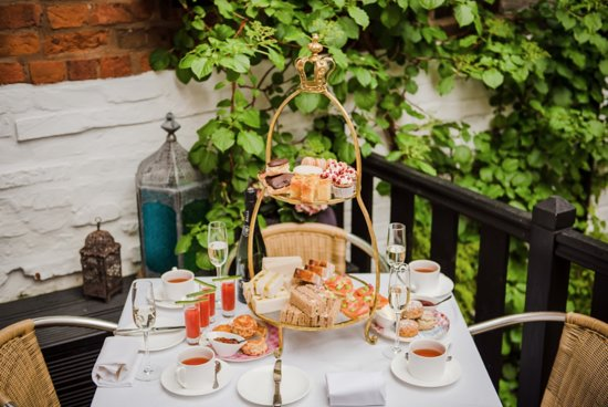 Afternoon Tea in one of our courtyards