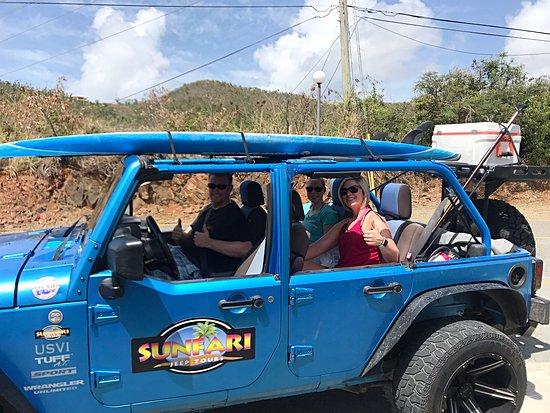 Sunfari Adventures: Jeep tour
