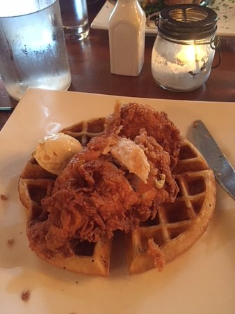 The Silly Goose: Fried Chicken and Waffles