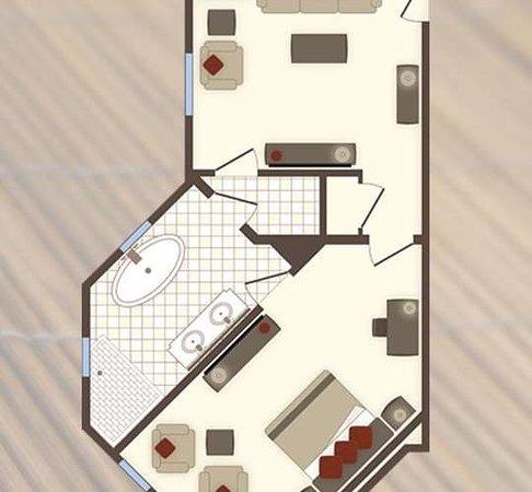Rustic Inn Creekside Resort and Spa at Jackson Hole: One Bedroom Spa Suite
