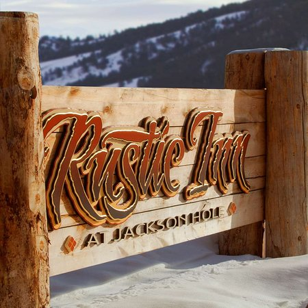 Rustic Inn Creekside Resort and Spa at Jackson Hole: Sign