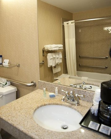 Comanche, TX: Mobility Accessible Guest Bathroom