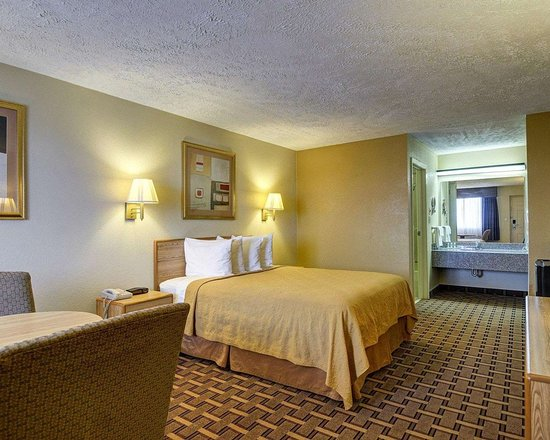 Quality Inn Conway - Greenbrier: Guest room with one bed