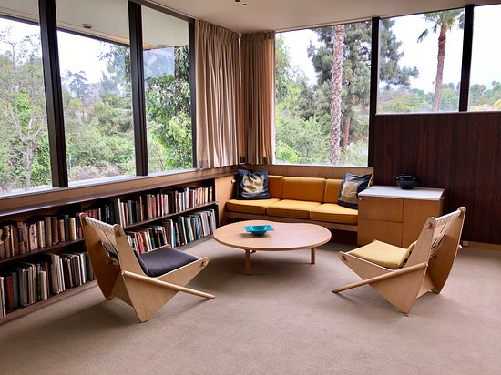 Neutra VDL House: Home interior