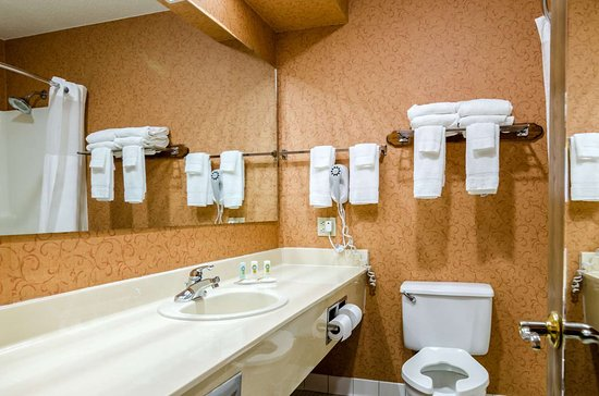 Quality Inn of Eureka Springs: Bathroom