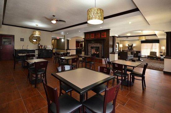 Center, Teksas: Breakfast Area