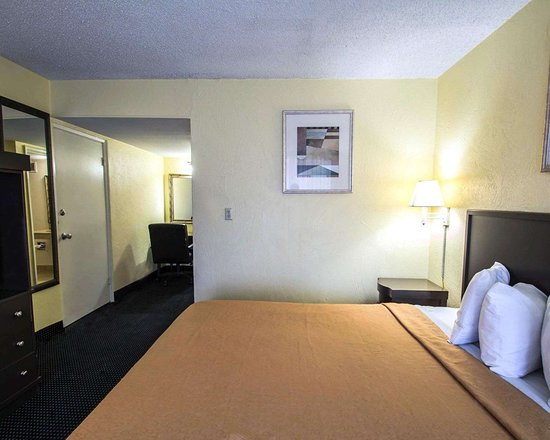 EconoLodge: Guest room with king bed
