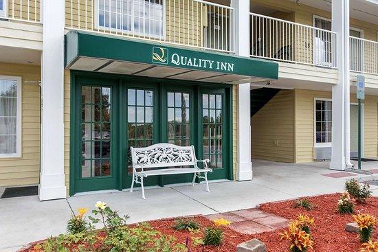 Laurinburg, North Carolina: Hotel entrance
