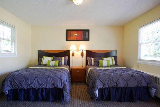 Hutchinson, Μινεσότα: 7-Hi Budget Motel Double Room View
