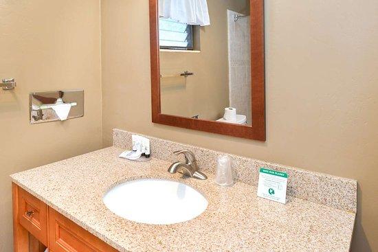 Svendsgaard's Danish Lodge - Americas Best Value Inn: Standard Guest Bathroom