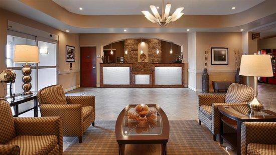 Abbeville, LA: Hotel Lobby