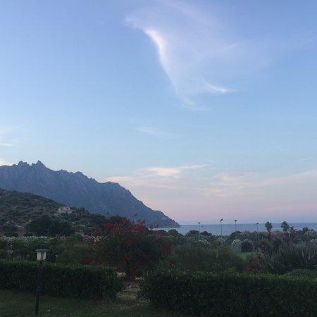 Marina di Tertenia, Italien: Sunset from our villa
