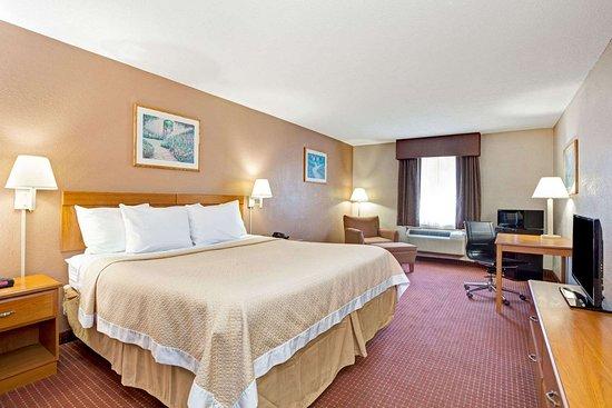 Days Inn by Wyndham Charleston East: 1 King Bed Room