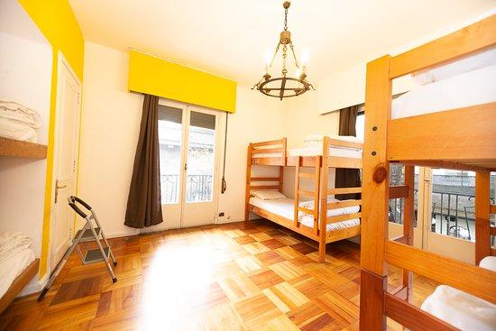 La Casona Hostel: Habitación compartida ensuite