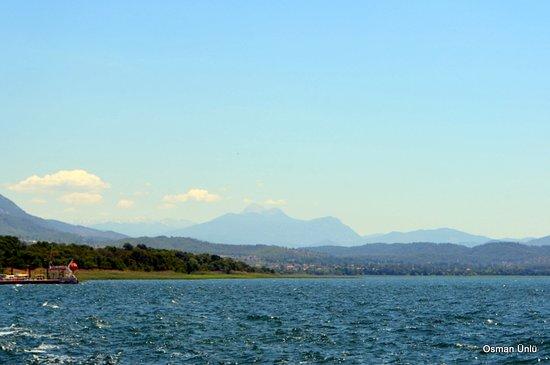 Köyceğiz gölü ve Çal dağı