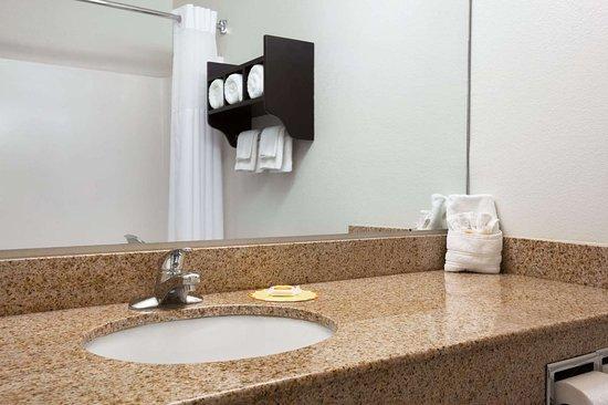 Days Inn & Suites by Wyndham Conroe: Guest room bath