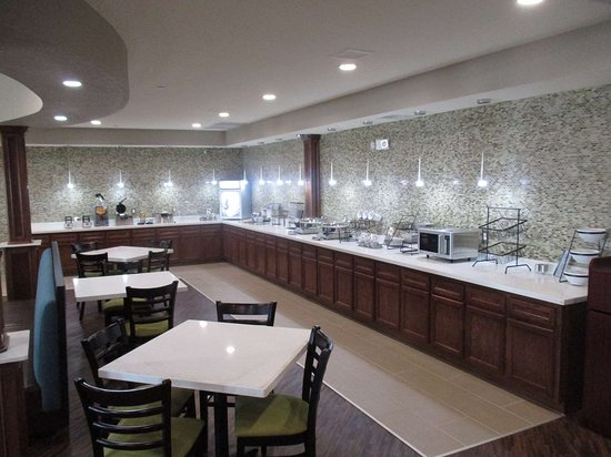 Best Western Plus Galveston Suites: Breakfast Bar