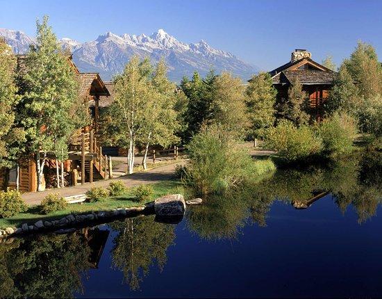 Spring Creek Ranch: Hotel Pond View