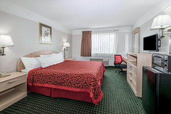Days Inn by Wyndham Kansas City International Airport: 1 King Bed Room