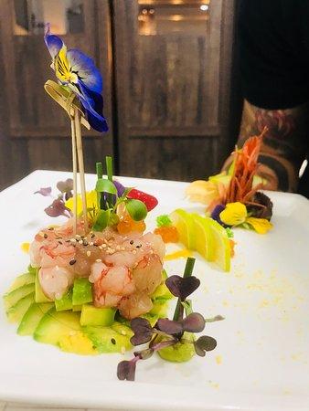 Shabu Lecco - Japanese Fusion Restaurant: Tartare di Gambero Rosso