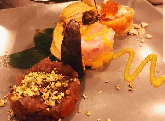Shabu Lecco - Japanese Fusion Restaurant: Selezione di Tartare