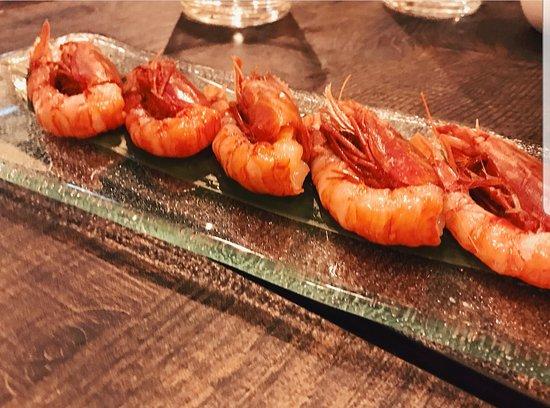 Shabu Lecco - Japanese Fusion Restaurant: Gamberi Rossi