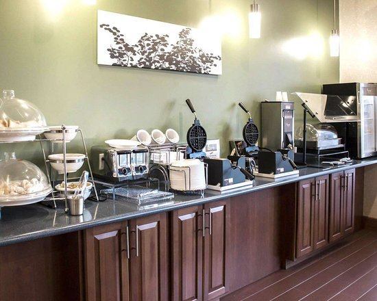 Sleep Inn & Suites Smithfield: Breakfast bar
