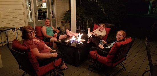The White Doe Inn: White Doe Inn. #Firesidechat