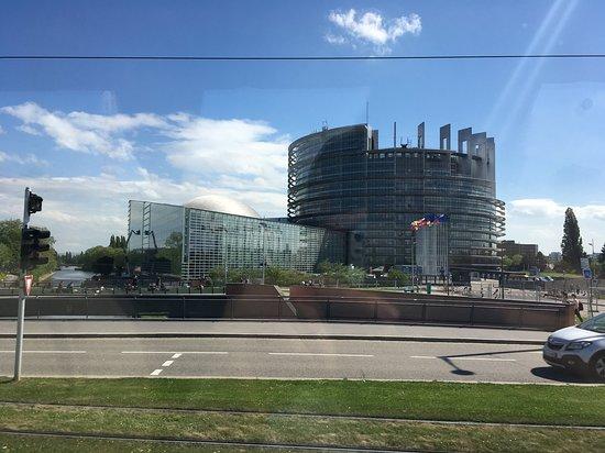 European Parliament Strasbourg: La parlement européen à Strasbourg