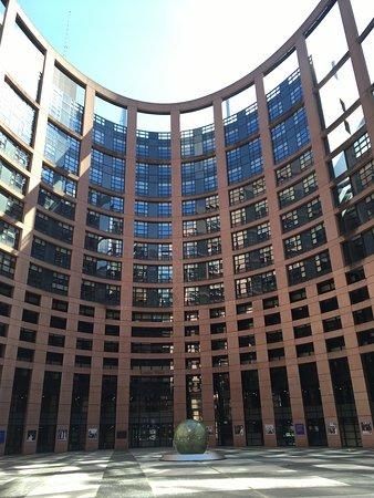 European Parliament Strasbourg: L'intérieur