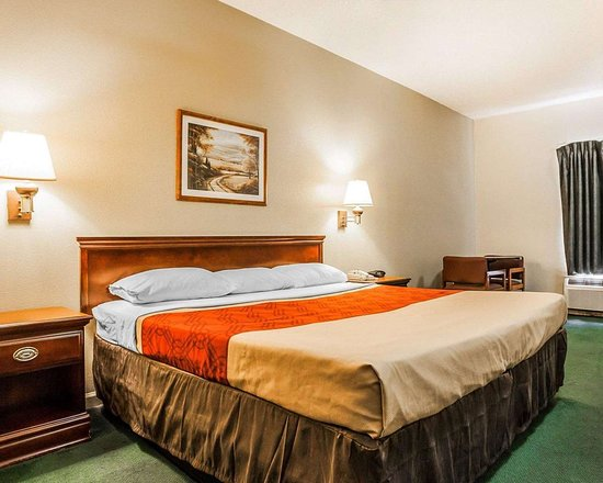 Granite City, IL: Guest room with king bed