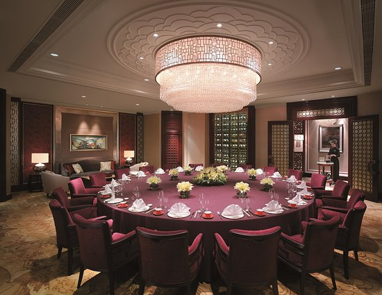 Shangri-La Hotel: Shang Palace Private Dining Room (largest table)