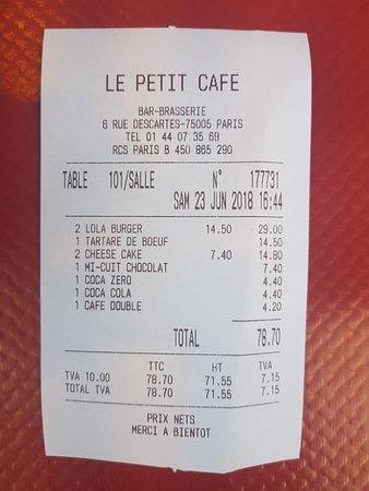 Le Petite Café: 20180623_164740_large.jpg