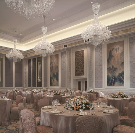 Shangri-La Hotel Guilin: Western Wedding Set-up