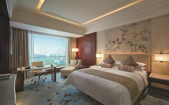 Shangri-la Hotel Qinhuangdao: Horizon Deluxe City view Room king