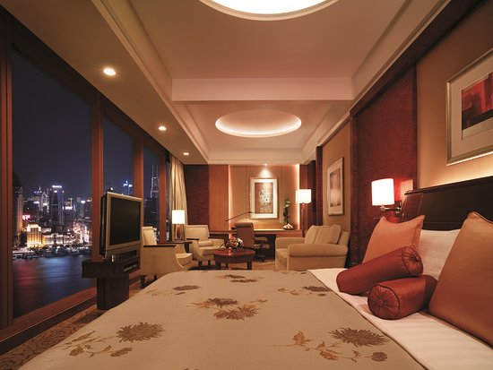Pudong Shangri-La, East Shanghai: Horizon Premier Bund View Room, Grand Tower