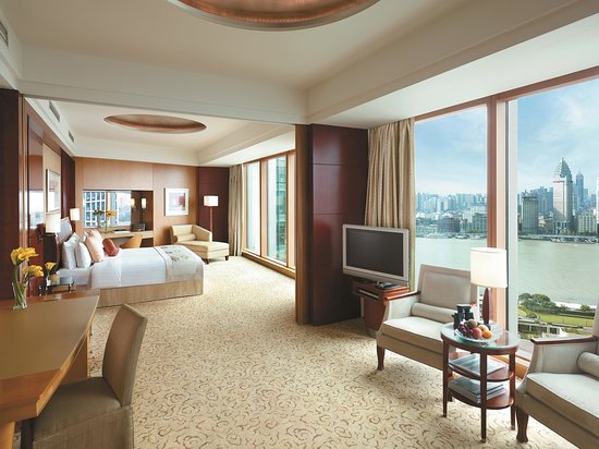 Pudong Shangri-La, East Shanghai: Grand Tower Horizon Club Grand Premier Bund View Room