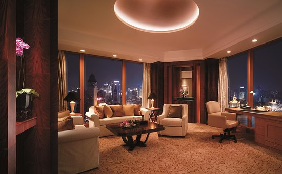 Pudong Shangri-La, East Shanghai: Horizon Club Premier Suite, Grand Tower