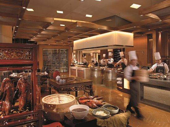 Pudong Shangri-La, East Shanghai: Yi Cafe Hot Section