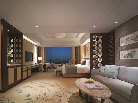 Shangri-La Hotel Yangzhou: Horizon Club Premier Lake View Room