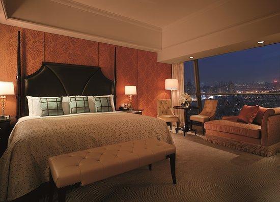 Shangri-La Hotel, Xian: Premier Suite (Bedroom)