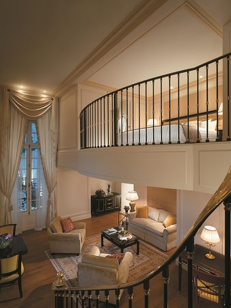 Shangri-La Hotel Paris: Premier Duplex Suite