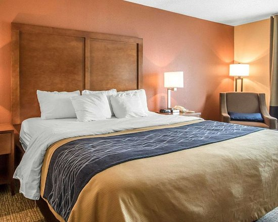Comfort Inn: Guest room with king bed