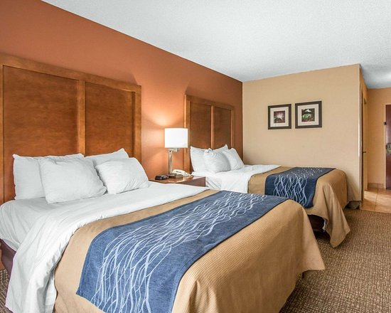 Comfort Inn: Guest room with double beds
