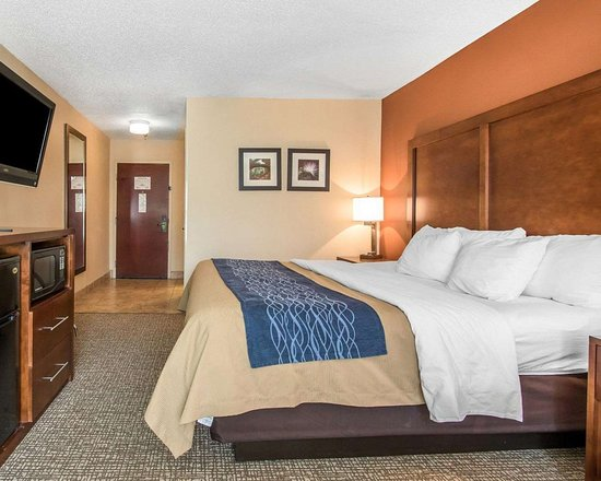 Comfort Inn: Well-equipped guest room