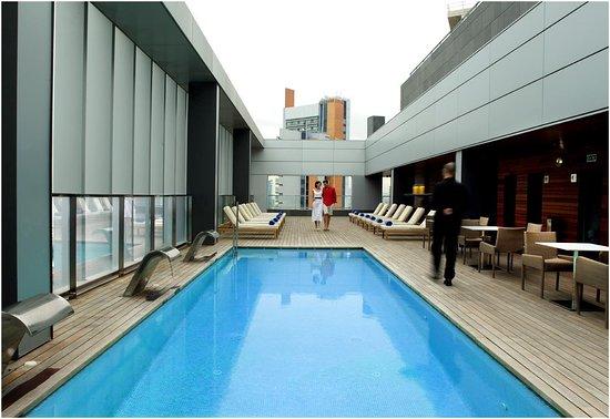 Hotel SB Diagonal Zero : Pool View
